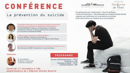 Conference suicide