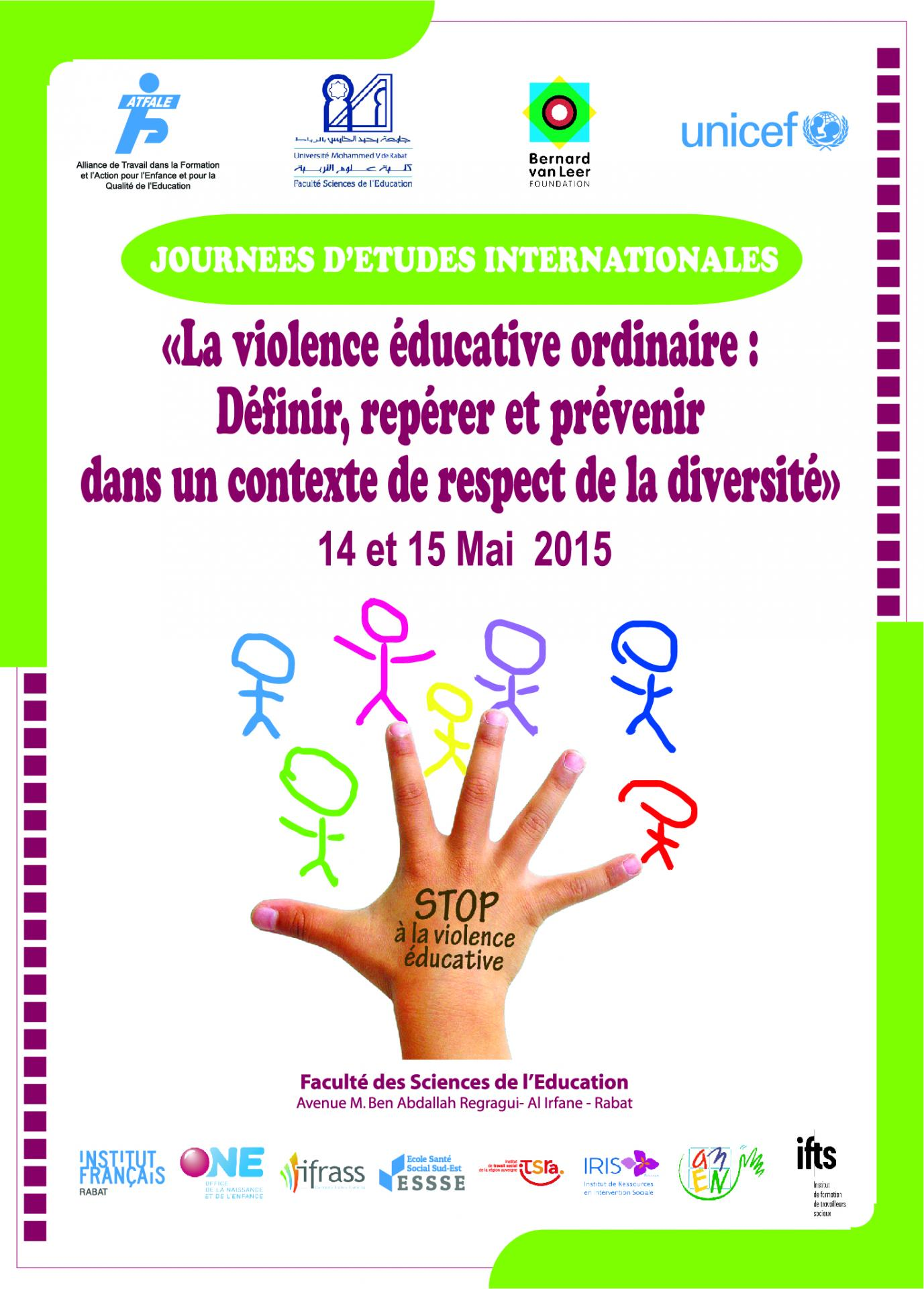 Violences educatives affiche